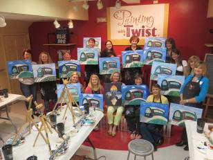 Painting With A Twist Women S Event Asset One Events